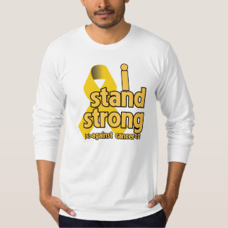 I Stand Strong Against Neuroblastoma Tee Shirts
