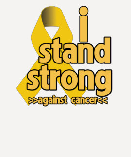 I Stand Strong Against Neuroblastoma Tees