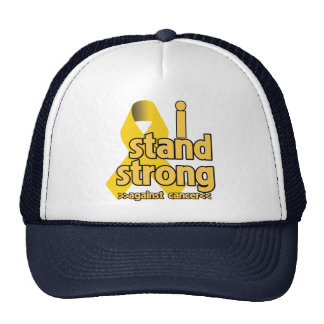 I Stand Strong Against Neuroblastoma Trucker Hat