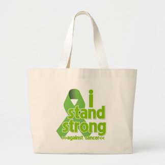 I Stand Strong Against Non-Hodgkins Lymphoma Jumbo Tote Bag