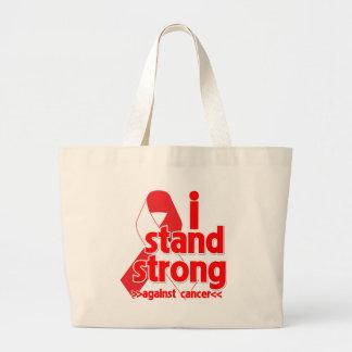 I Stand Strong Against Oral Cancer Bag