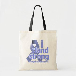 I Stand Strong Against Stomach Cancer Budget Tote Bag