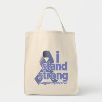 I Stand Strong Against Stomach Cancer Grocery Tote Bag