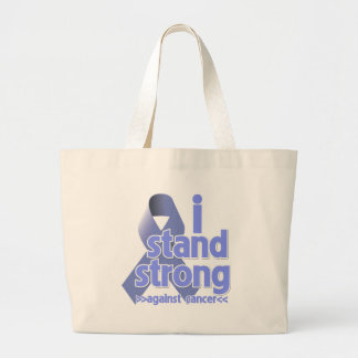 I Stand Strong Against Stomach Cancer Jumbo Tote Bag