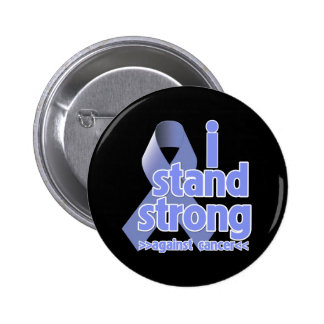 I Stand Strong Against Stomach Cancer 2 Inch Round Button