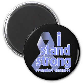 I Stand Strong Against Stomach Cancer 2 Inch Round Magnet