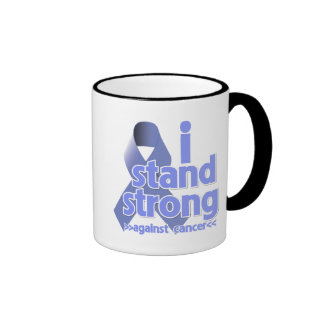 I Stand Strong Against Stomach Cancer Ringer Coffee Mug