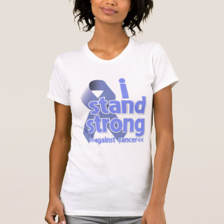 I Stand Strong Against Stomach Cancer Tee Shirts