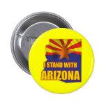 I stand with Arizona 2 Inch Round Button