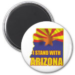 I stand with Arizona 2 Inch Round Magnet