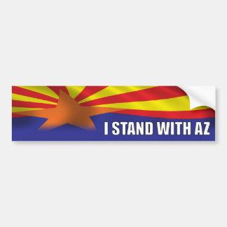 I stand with Arizona Bumper Sticker