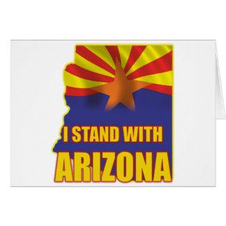 I stand with Arizona Card