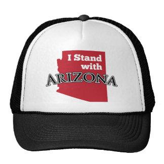 I Stand With Arizona Hats