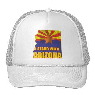 I stand with Arizona Mesh Hat