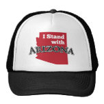 I Stand With Arizona Hats