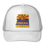 I stand with Arizona Mesh Hat