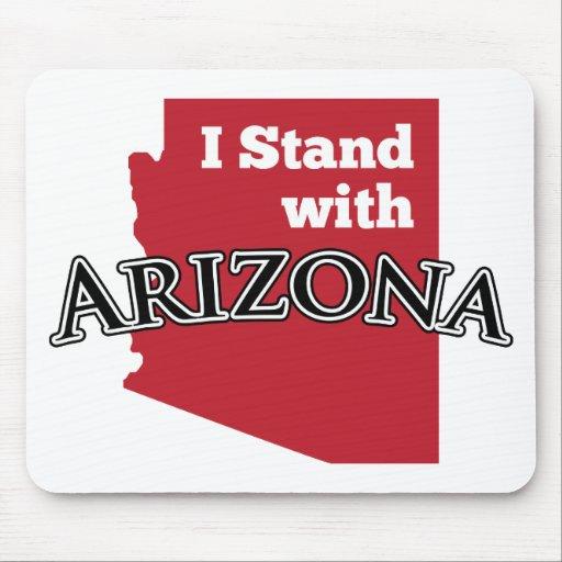 I Stand With Arizona Mouse Pad