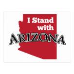 I Stand With Arizona Post Card