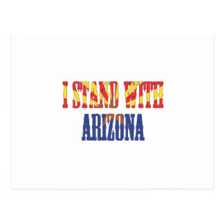 I STAND WITH ARIZONA POSTCARD