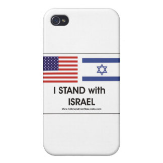 I stand with Irael Cover For iPhone 4