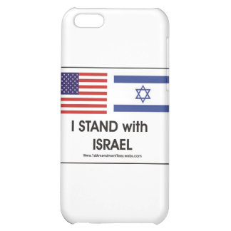 I stand with Irael iPhone 5C Cover