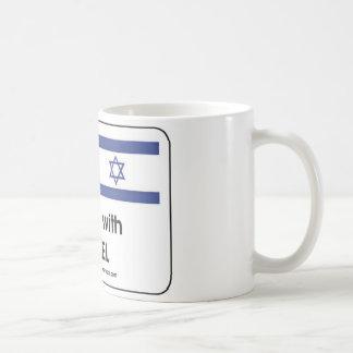 I stand with Irael Coffee Mugs