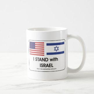 I stand with Irael Coffee Mug