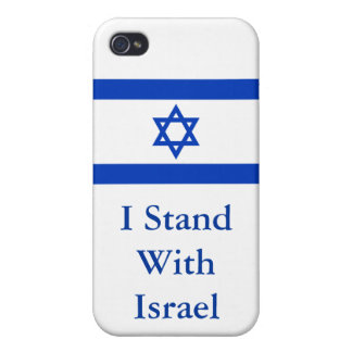 I Stand With Israel Cases For iPhone 4