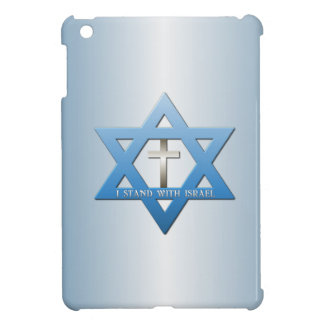 I Stand With Israel Christian Cross iPad Mini Covers
