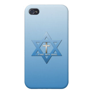 I Stand With Israel Christian Cross iPhone 4/4S Case