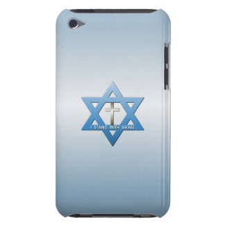 I Stand With Israel Christian Cross Jewish iPod Touch Case-Mate Case