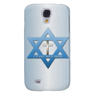 I Stand With Israel Christian Cross Samsung Galaxy S4 Case