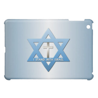 I Stand With Israel Christian Cross Star of David Case For The iPad Mini
