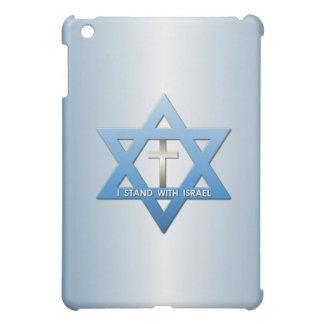 I Stand With Israel Christian Cross Star of David iPad Mini Case