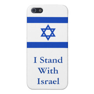 I Stand With Israel Cover For iPhone 5