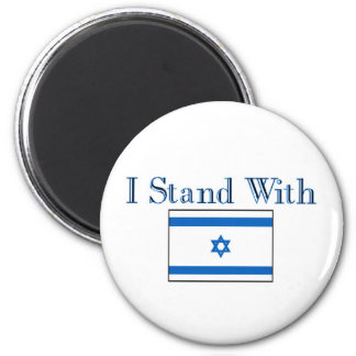 I Stand with Israel Fridge Magnet