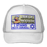 I Stand With Israel! Mesh Hat