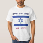 I Stand With Israel T Shirt