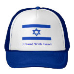 I Stand With Israel Trucker Hat