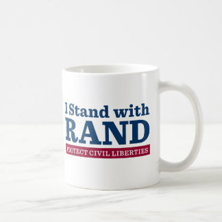 I Stand With Rand Mugs