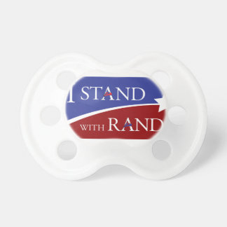 I Stand With Rand Pacifiers
