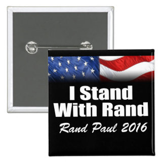 I Stand with Rand Paul Button