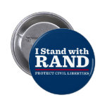 I Stand With Rand Pin