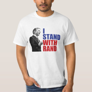 I Stand With Rand Shirts