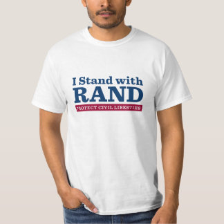 I Stand With Rand T-shirts