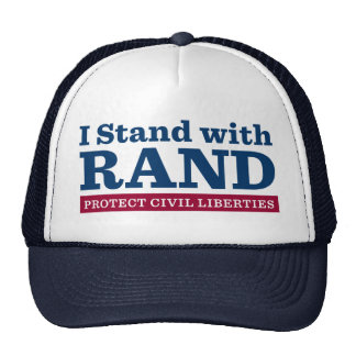 I Stand With Rand Trucker Hat
