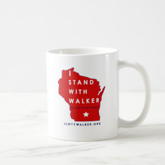 I Stand With Scott Walker Coffee Mug