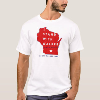 I Stand With Scott Walker T-Shirt