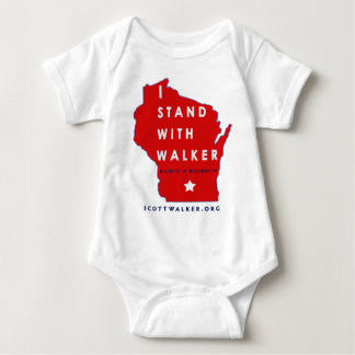 I Stand With Scott Walker Tee Shirts
