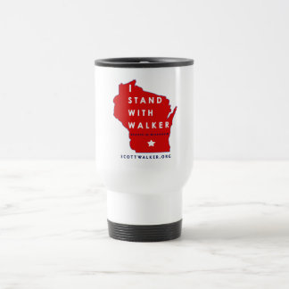 I Stand With Scott Walker Travel Mug